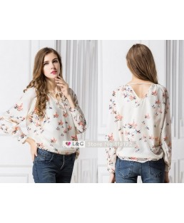 Blusa Ladies Chiffon ML