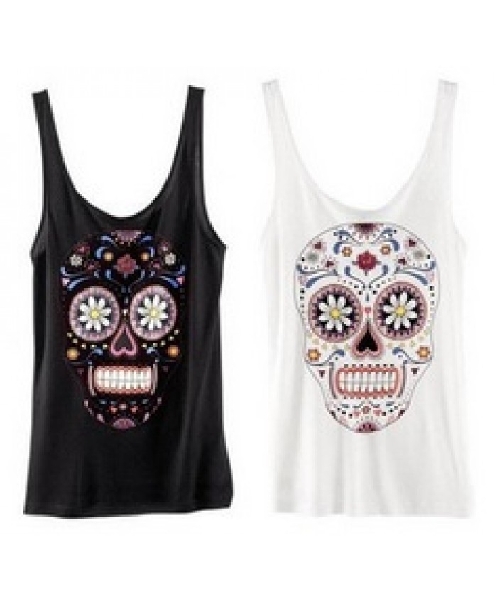 a42044907 Camiseta Caveira Mexicana